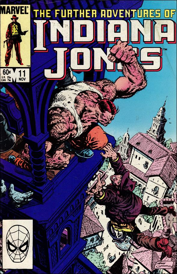 Further Adventures of Indiana Jones 11-A by Marvel