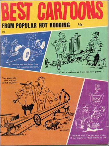 Best Cartoons from Popular Hot Rodding 1-A by Argus Publishing