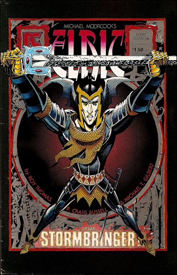 Elric of Melnibone 6-A by Pacific Comics