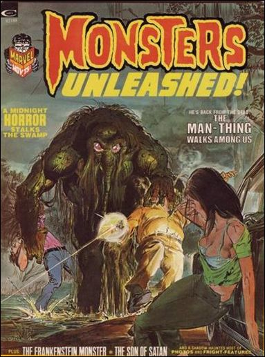 Monsters Unleashed 3-A by Marvel