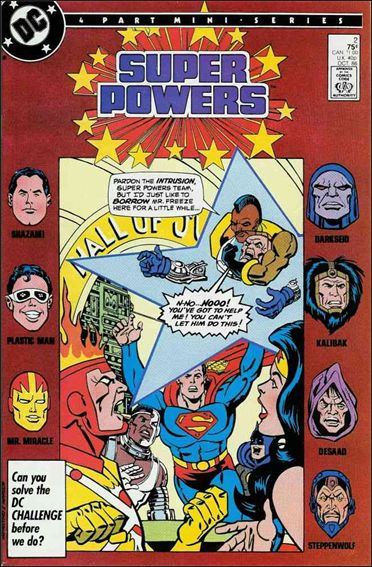 Super Powers (1986) 2-A by DC