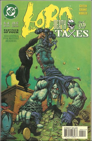 Lobo: Death and Taxes 4-A by DC