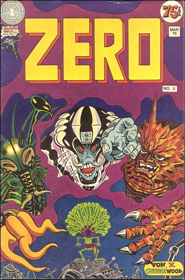 Zero (1974) 2-A by Last Gasp