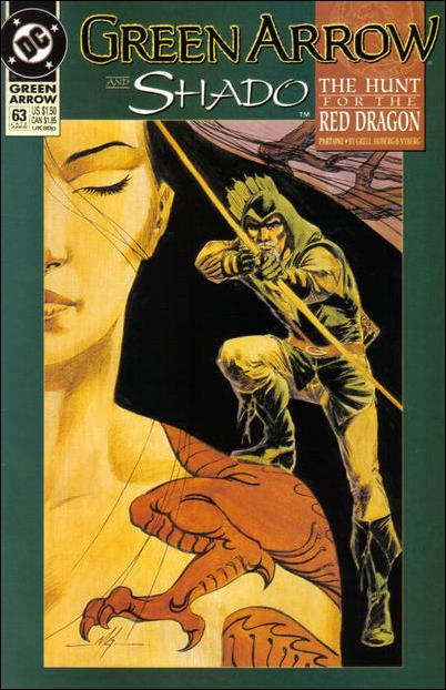 Green Arrow (1988) 63-A by DC