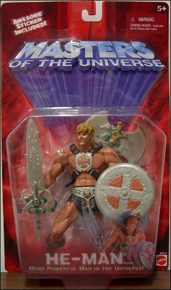 Masters of the Universe (Modern Series)  Basic Action Figures He-Man (Cross Emblem) by Mattel