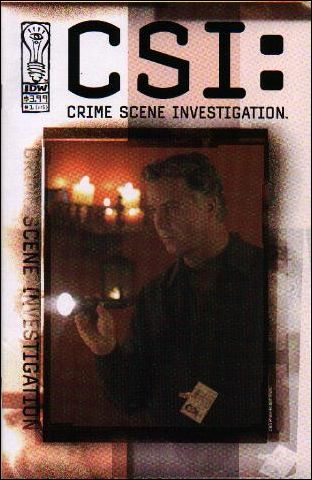 CSI: Crime Scene Investigation 1-B by IDW