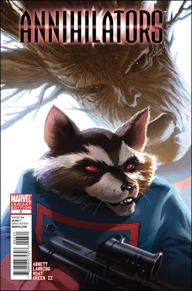 Annihilators 3-B by Marvel