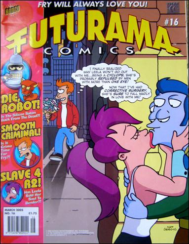 Futurama (UK) 16-A by Titan Magazines
