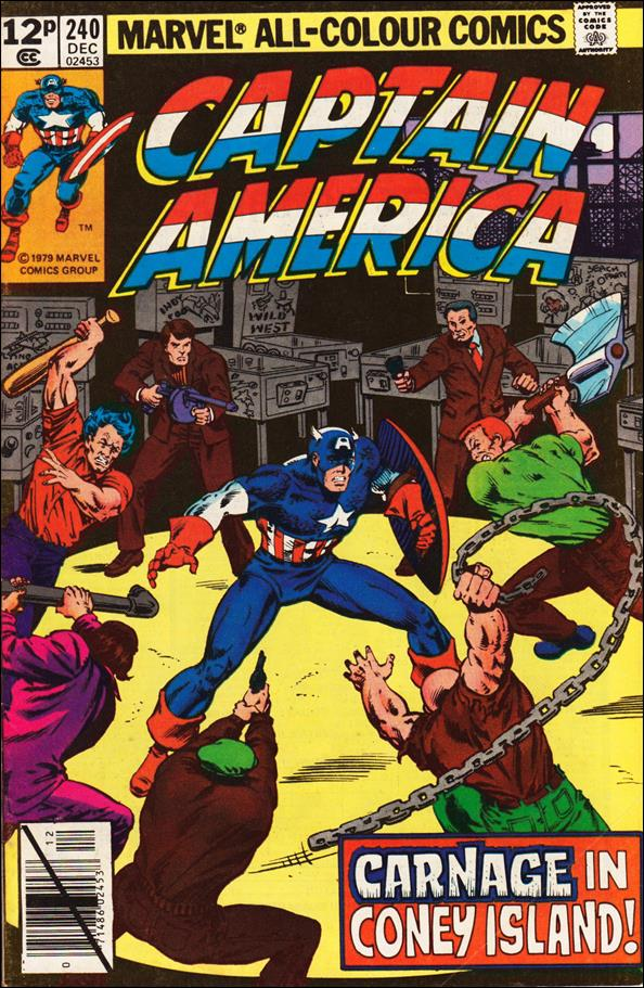 Captain America (1968) 240-B by Marvel