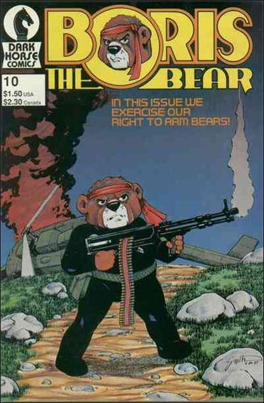 Boris the Bear 10-A by Dark Horse