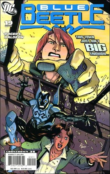 Blue Beetle (2006) 19-A by DC