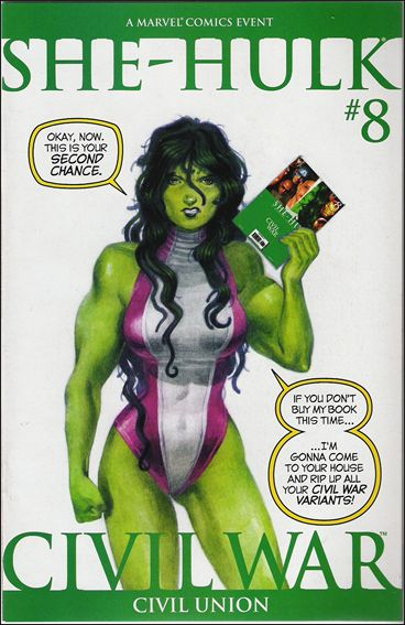 She-Hulk (2005) 8-B by Marvel