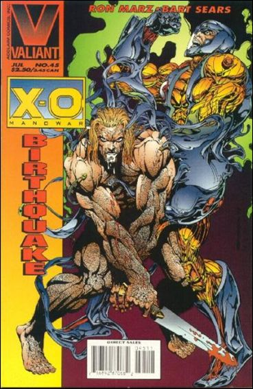 X-O Manowar (1992) 45-A by Valiant