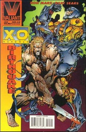 X-O Manowar (1992) 45-A