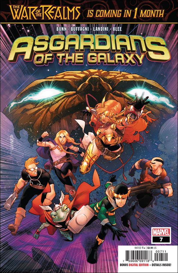 Asgardians of the Galaxy 7-A by Marvel