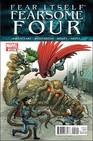 Fear Itself: Fearsome Four 2-A by Marvel
