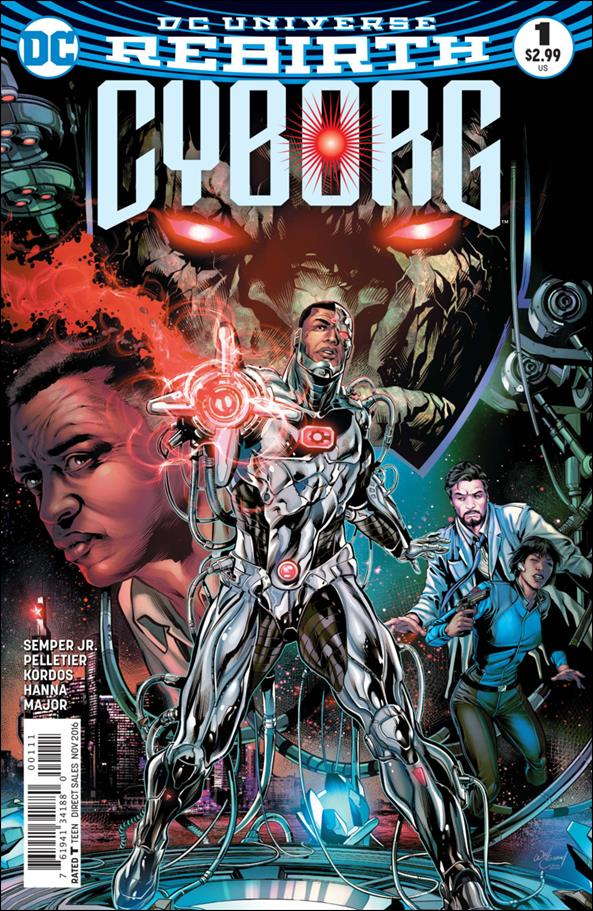 Cyborg (2016) 1-A by DC