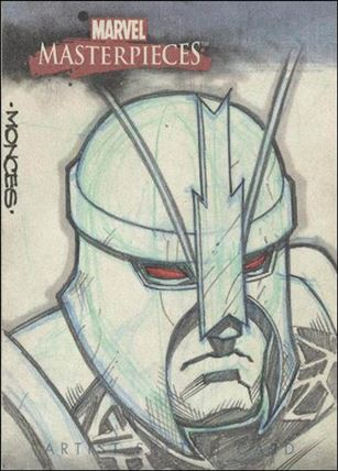 2007 Marvel Masterpieces (Sketch Card Subset) RM-A