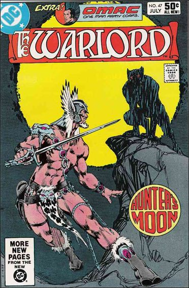 Warlord (1976) 47-A by DC
