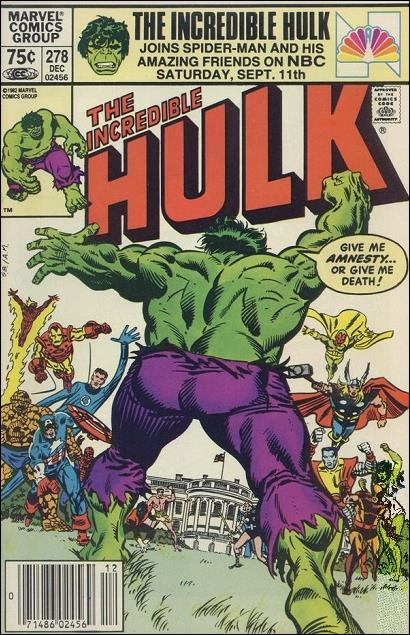 Incredible Hulk (1968) 278-B by Marvel
