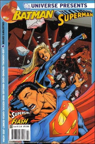 DC Universe Presents Batman/Superman (UK)  7-A by Titan Magazines