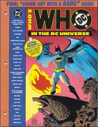 Who's Who In the DC Universe 16-A by DC