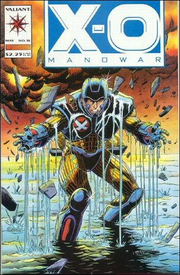 X-O Manowar (1992) 16-A by Valiant