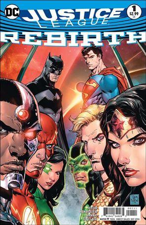 Justice League: Rebirth 1-A
