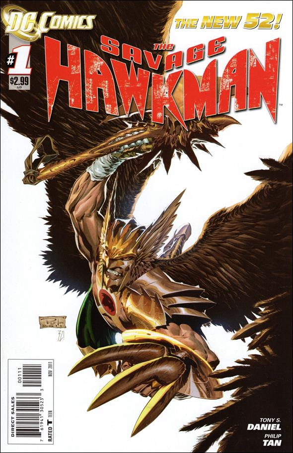 Savage Hawkman 1-A by DC