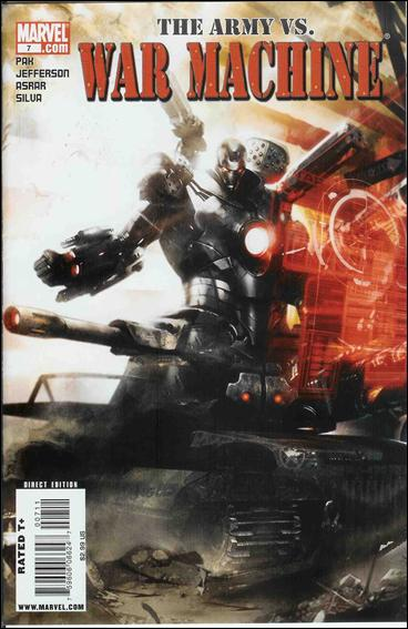 War Machine (2009) 7-A by Marvel
