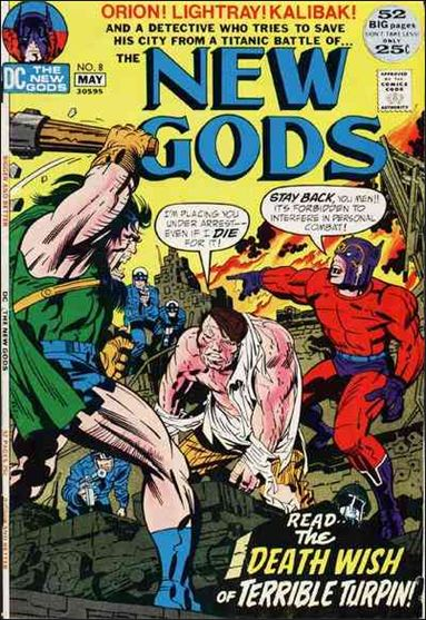 New Gods (1971) 8-A by DC