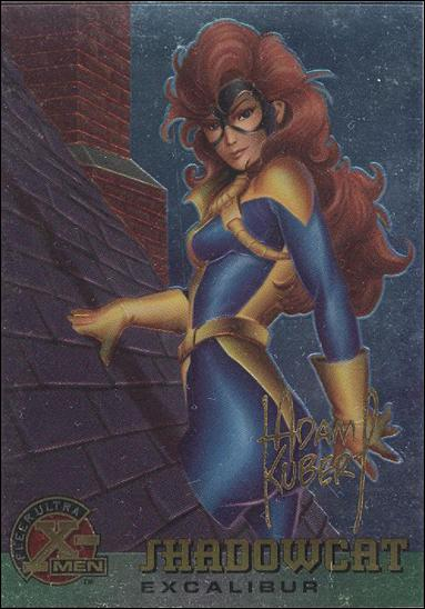 1995 Fleer Ultra X-Men All Chromium (Gold Signature Parallel Base Set) 28-A by Fleer