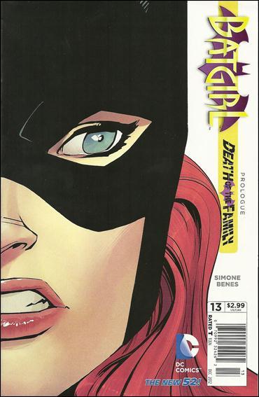 Batgirl (2011) 13-B by DC