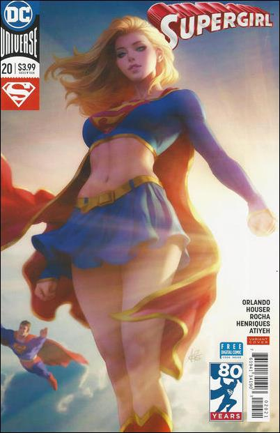 Supergirl (2016) 20-B by DC