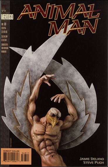 Animal Man (1988) 68-A by Vertigo