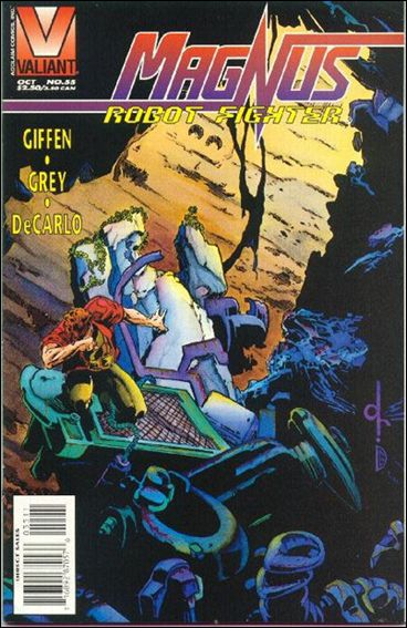 Magnus Robot Fighter (1991) 55-A by Valiant