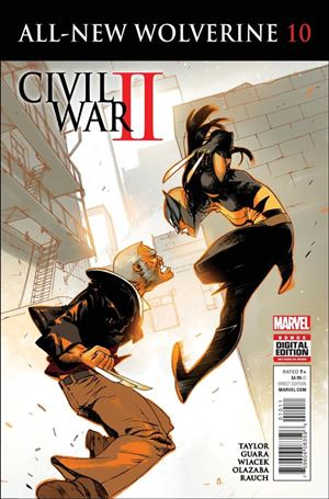 All-New Wolverine  10-A