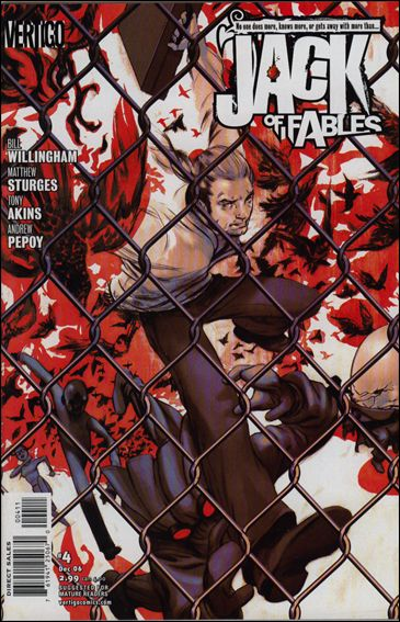 Jack of Fables 4-A by Vertigo