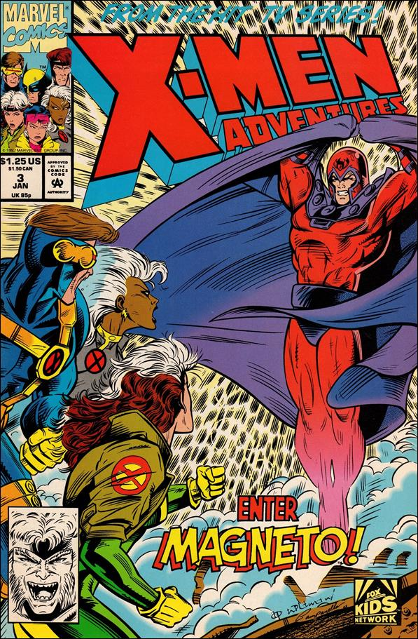 X-Men Adventures (1992) 3-A by Marvel