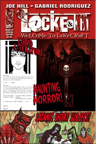 Locke & Key: Welcome to Lovecraft  1-A by IDW