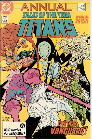 Tales of the Teen Titans Annual 4-A by DC