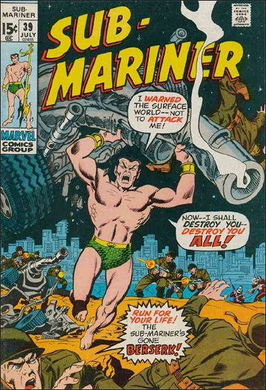 Sub-Mariner (1968) 39-A by Marvel