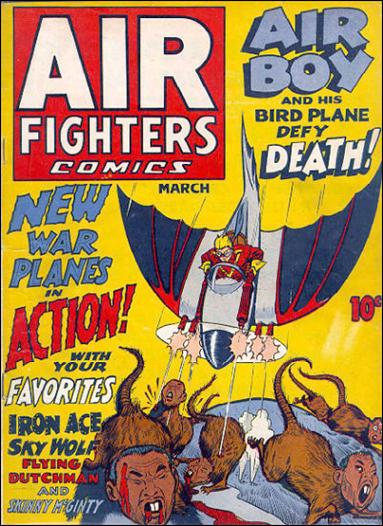 Air Fighters Comics (1941) 6-A by Hillman