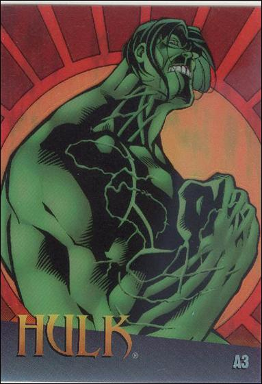 Marvel vs WildStorm (Clearchrome Subset) A3-A by Fleer/SkyBox