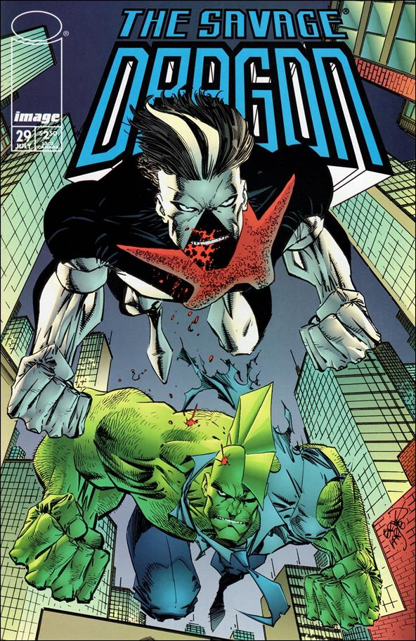Savage Dragon (1993) 29-A by Image
