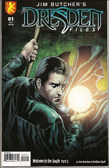 Jim Butcher's The Dresden Files: Welcome to the Jungle 1-A by Dabel Brothers (DB) Productions