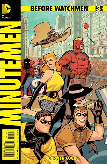 Before Watchmen: Minutemen 3-D by DC