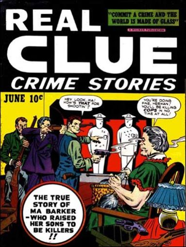 Real Clue Crime Stories (1947) 4-A by Hillman