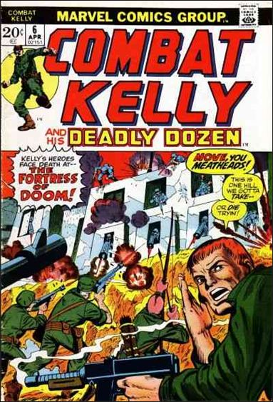 Combat Kelly (1972) 6-A by Marvel