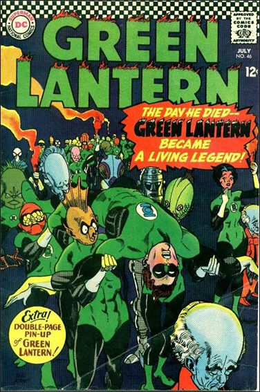 Green Lantern (1960) 46-A by DC
